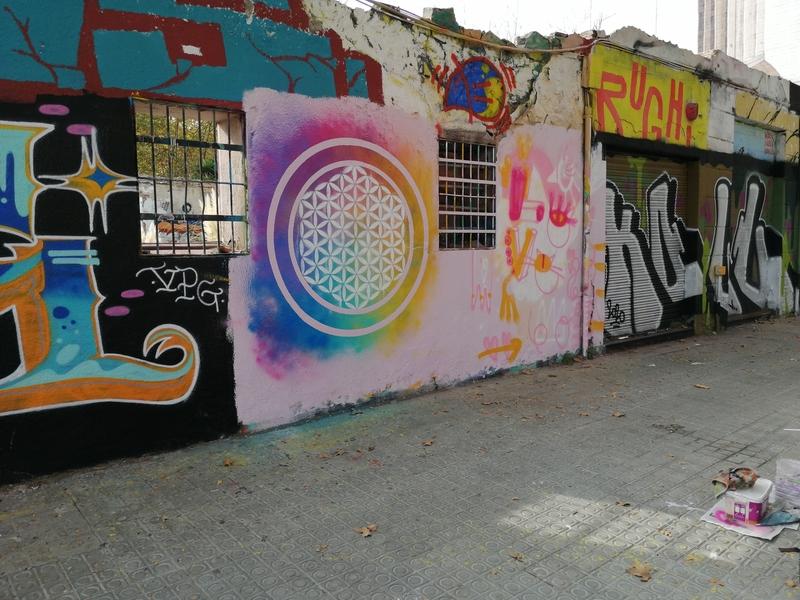 Wallspot - Oniric. Omnia - Barcelona - Western Town - Graffity - Legal Walls -