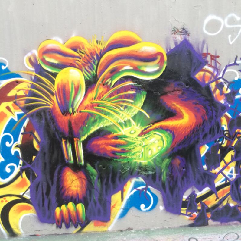 Wallspot - ink_rats - Tres Xemeneies - Barcelona - Tres Xemeneies - Graffity - Legal Walls - Ilustración