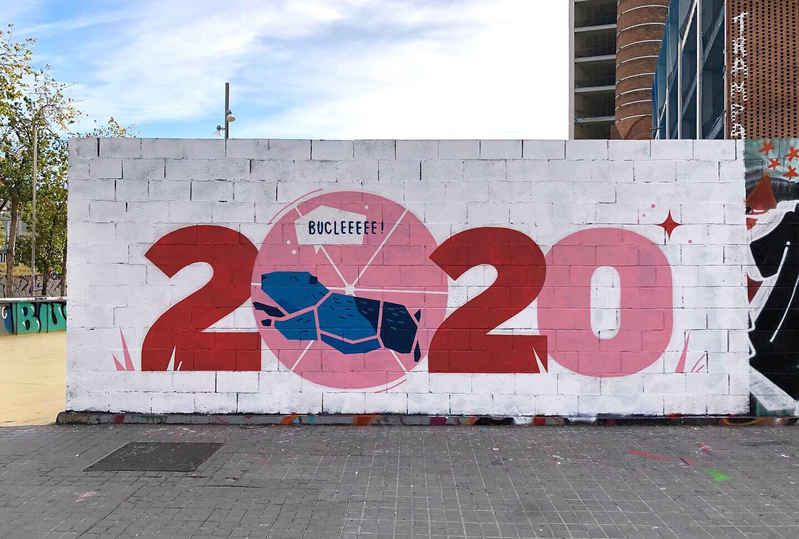 Wallspot - nuriatoll - Barcelona - Tres Xemeneies - Graffity - Legal Walls -