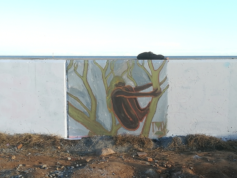 Wallspot - [MO] - Barcelona - Forum beach - Graffity - Legal Walls -