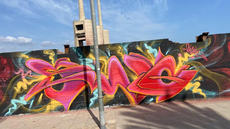 Wallspot - keepy - Barcelona - Forum beach - Graffity - Legal Walls -