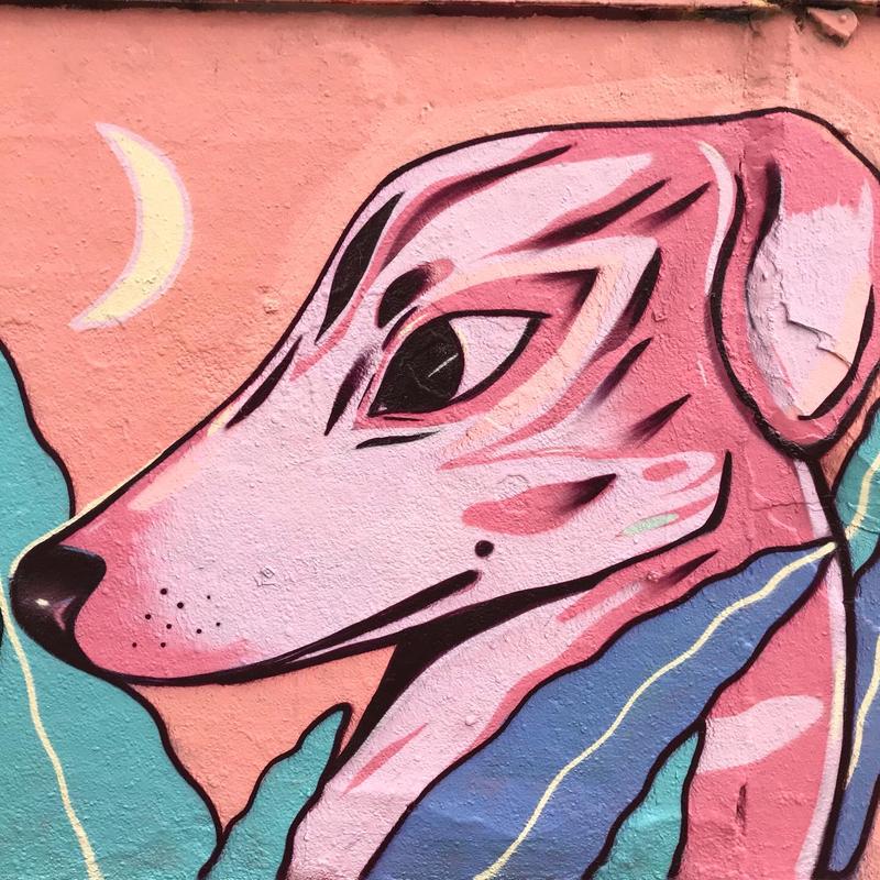 Wallspot - Carola Bagnato - Selva de Mar - Barcelona - Selva de Mar - Graffity - Legal Walls - Letters, Illustration