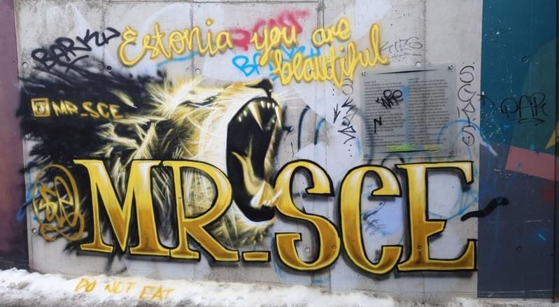 Wallspot - sce - Tallinn - Laagri Spot - Graffity - Legal Walls -