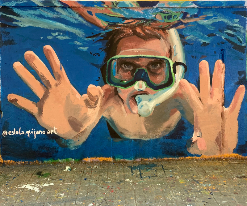 Wallspot - estel.arte - Barcelona - Agricultura - Graffity - Legal Walls -