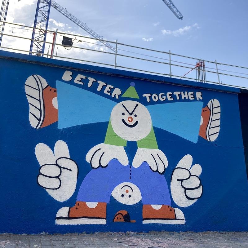 Wallspot - Ro Ledesma - Better Together - Barcelona - Agricultura - Graffity - Legal Walls - ,