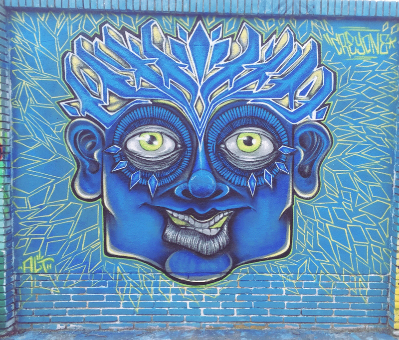 Wallspot - Crey one - graffiti avatar  - Barcelona - Selva de Mar - Graffity - Legal Walls -