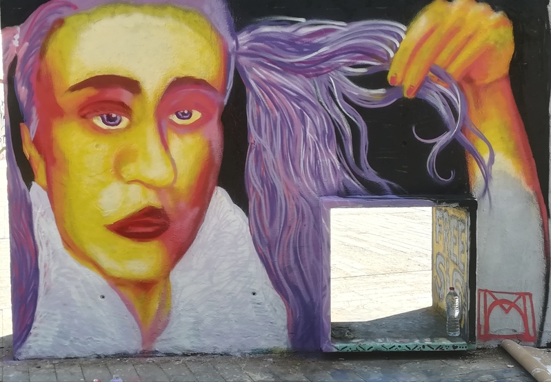 Wallspot - [MO] - Barcelona - Tres Xemeneies - Graffity - Legal Walls -