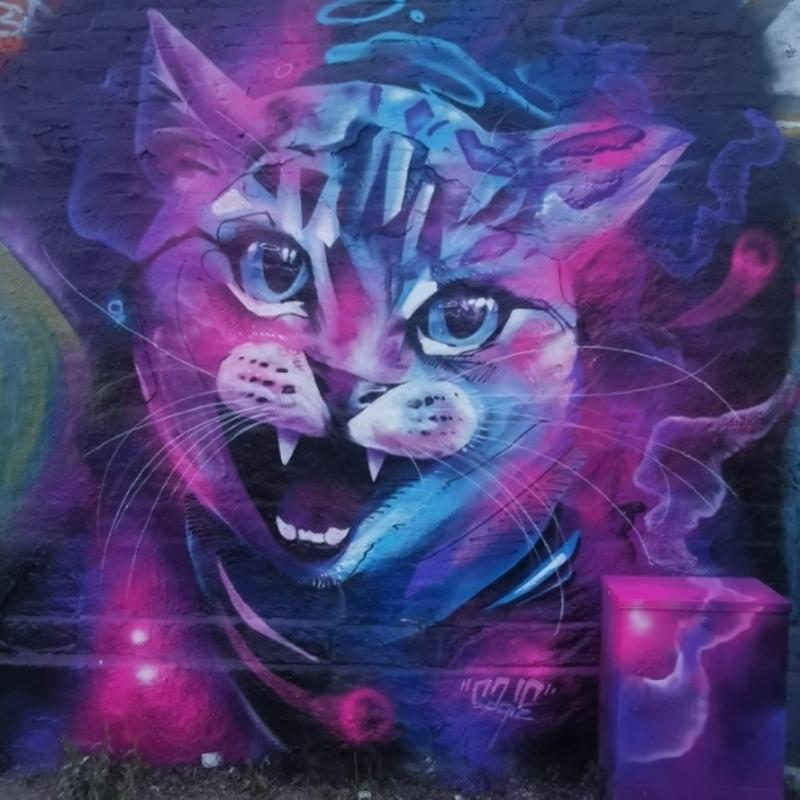 Wallspot - sagie - Göteborg - Draken - Graffity - Legal Walls -