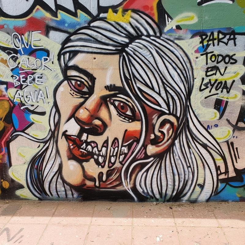 Wallspot - Luke Highlighter - Barcelona - Mas Guinardó - Graffity - Legal Walls -