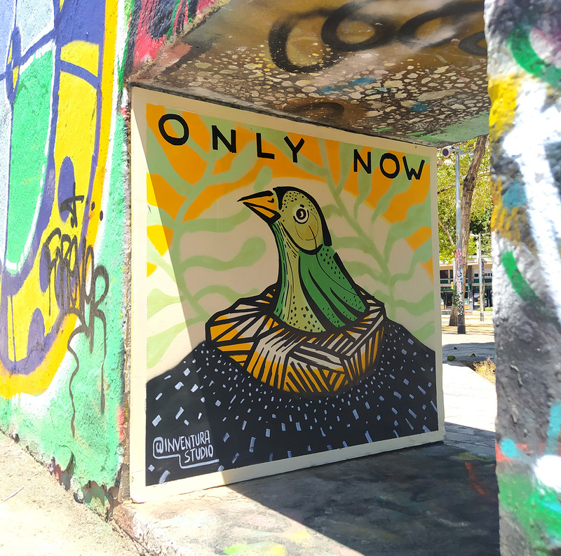 Wallspot - Inventura Studio - Efímero #10 - Barcelona - Tres Xemeneies - Graffity - Legal Walls - Letters, Illustration, Others