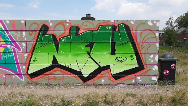 Wallspot - snovmc - Breda - Blind Walls Wallspot - Graffity - Legal Walls -
