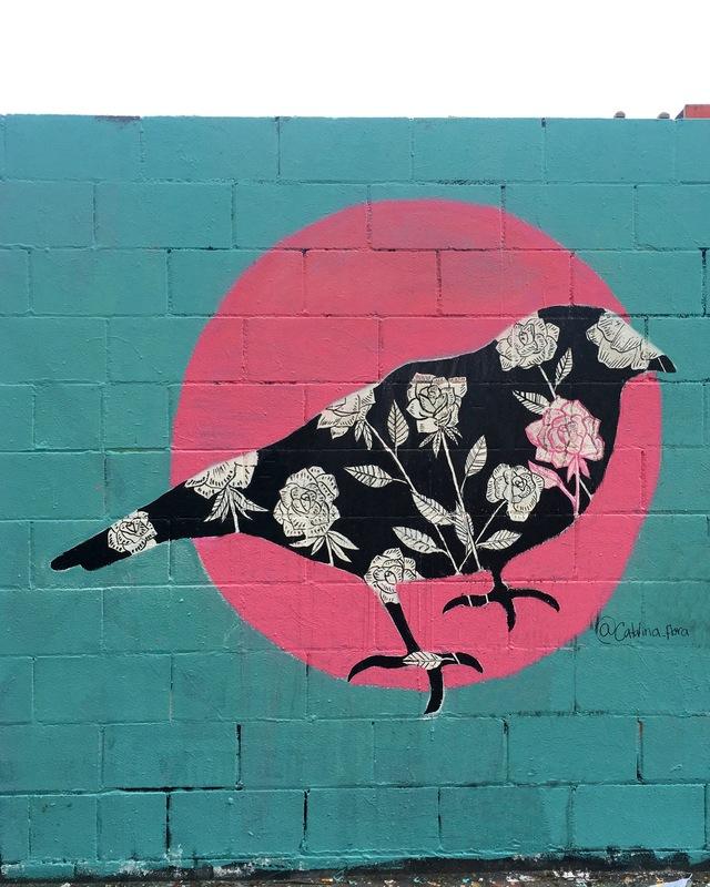 Wallspot - Catalina_flora - Western Town - Catalinaflora - Barcelona - Western Town - Graffity - Legal Walls - Il·lustració