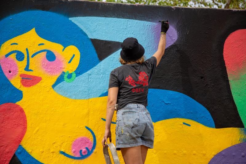 Wallspot - pixapixa - Barcelona - Tres Xemeneies - Graffity - Legal Walls -