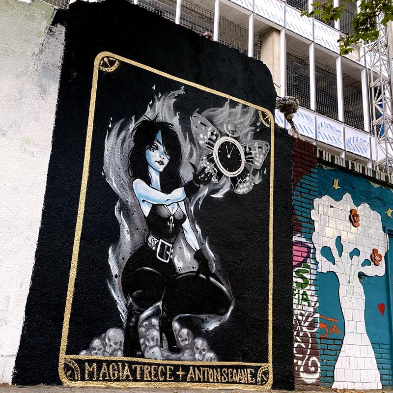 """Wallspot - ANTON SEOANE """"ROKE"""" - Selva de Mar - ANTON SEOANE """"ROKE"""" - Barcelona - Selva de Mar - Graffity - Legal Walls - Ilustración"""