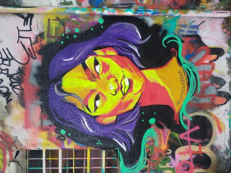 Wallspot - bymireiaesteban - Really?  - Barcelona - Western Town - Graffity - Legal Walls -