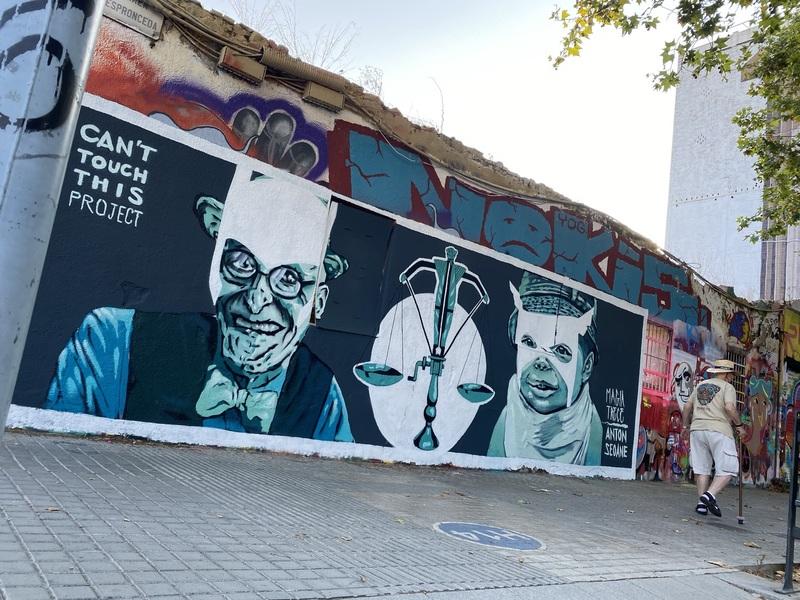 "Wallspot - ANTON SEOANE ""ROKE"" - Western Town - ANTON SEOANE ""ROKE"" - Barcelona - Western Town - Graffity - Legal Walls - Il·lustració"