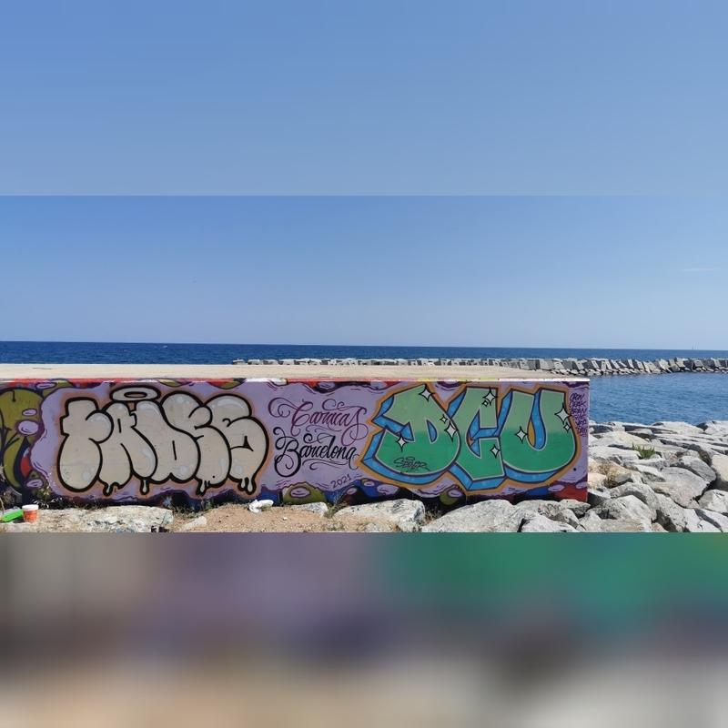 Wallspot - Fadesone - Barcelona - Forum beach - Graffity - Legal Walls -