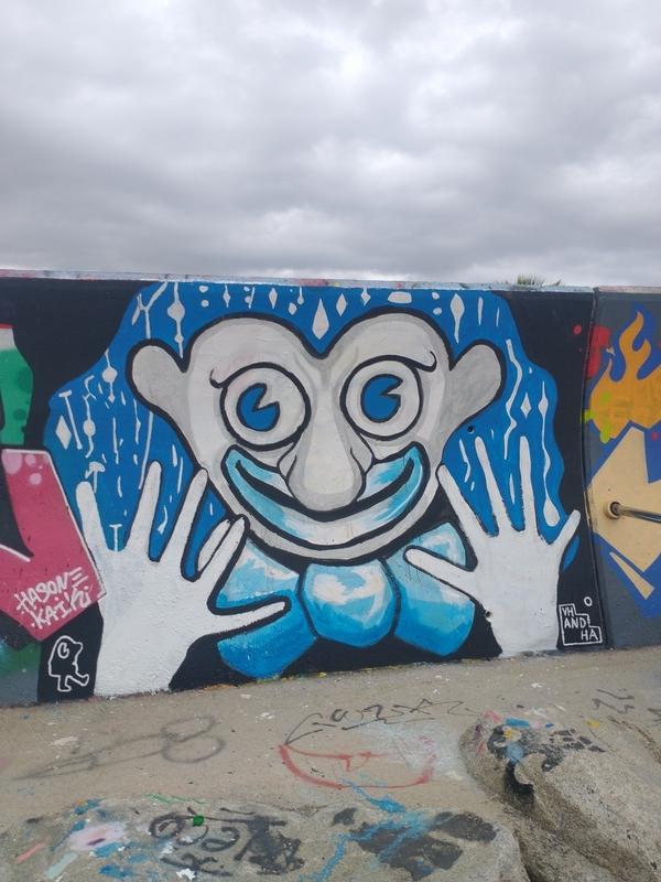 Wallspot - Vhandha - Barcelona - Forum beach - Graffity - Legal Walls -