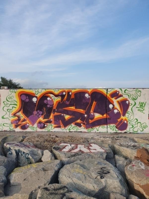 Wallspot - valorasuestancia1 - Forum beach - Barcelona - Forum beach - Graffity - Legal Walls -