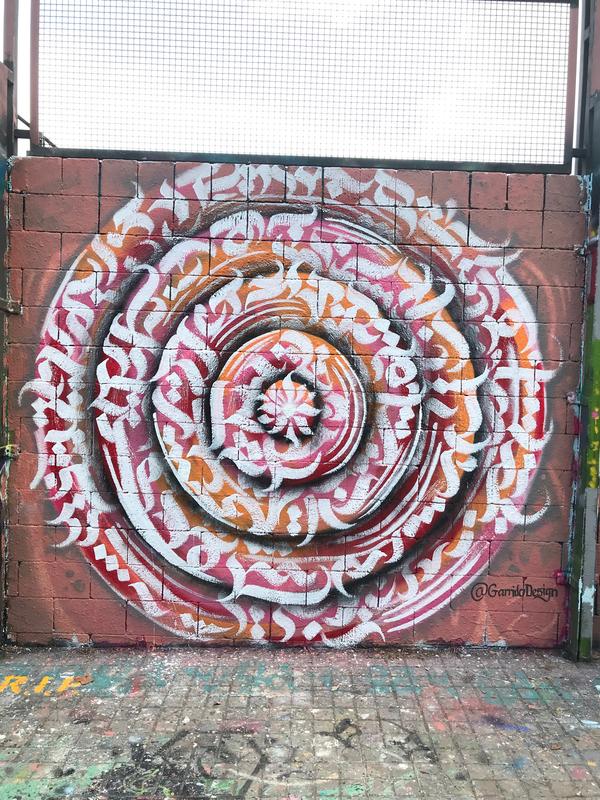 Wallspot - Garrido - Gextura colors  - Barcelona - Drassanes - Graffity - Legal Walls -