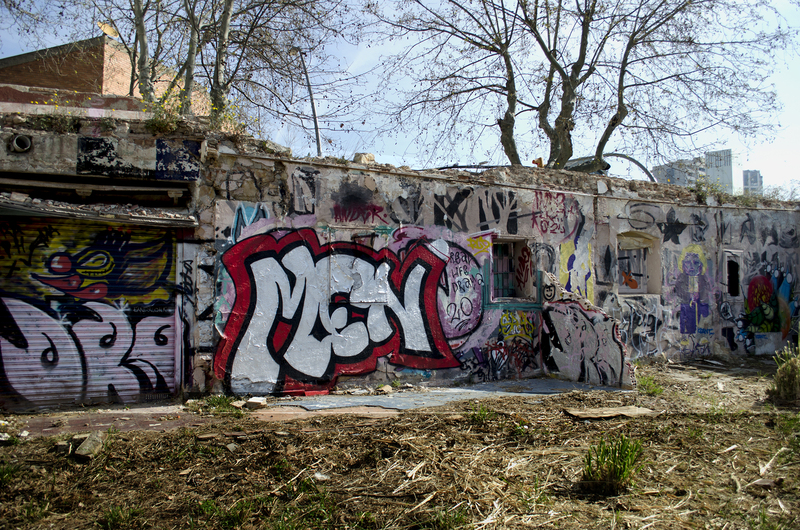Wallspot - Highbro - Men - Highbro - Barcelona - Western Town - Graffity - Legal Walls - Letters