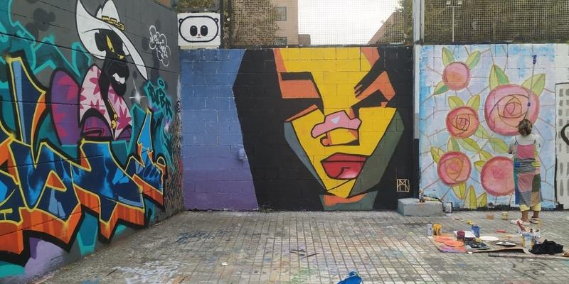 Wallspot - [MO] - @marttaaa_98 - Barcelona - Drassanes - Graffity - Legal Walls - Ilustración