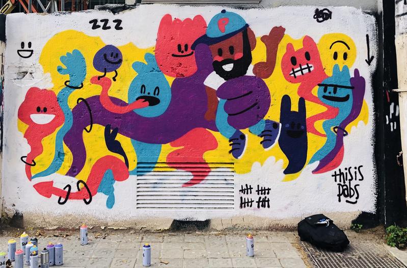 Wallspot - pabs - Soñando - Barcelona - Selva de Mar - Graffity - Legal Walls -