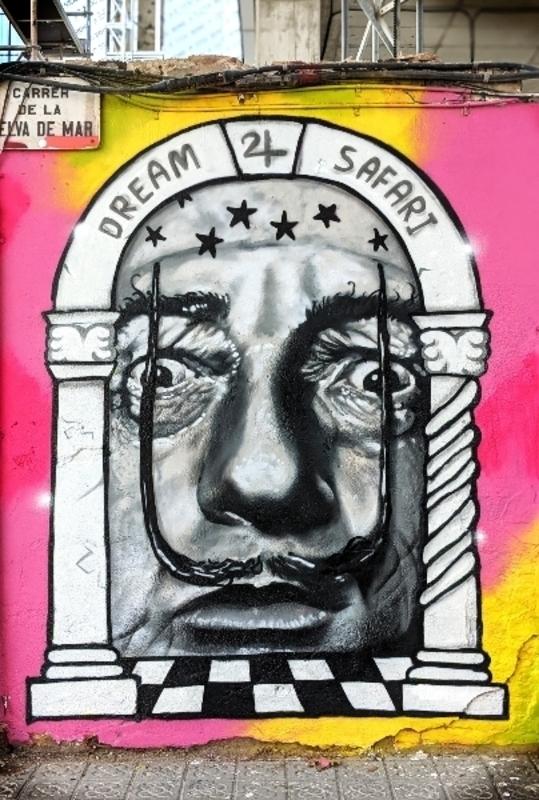Wallspot - DREAM SAFARI - Selva de Mar - Barcelona - Selva de Mar - Graffity - Legal Walls - Ilustración