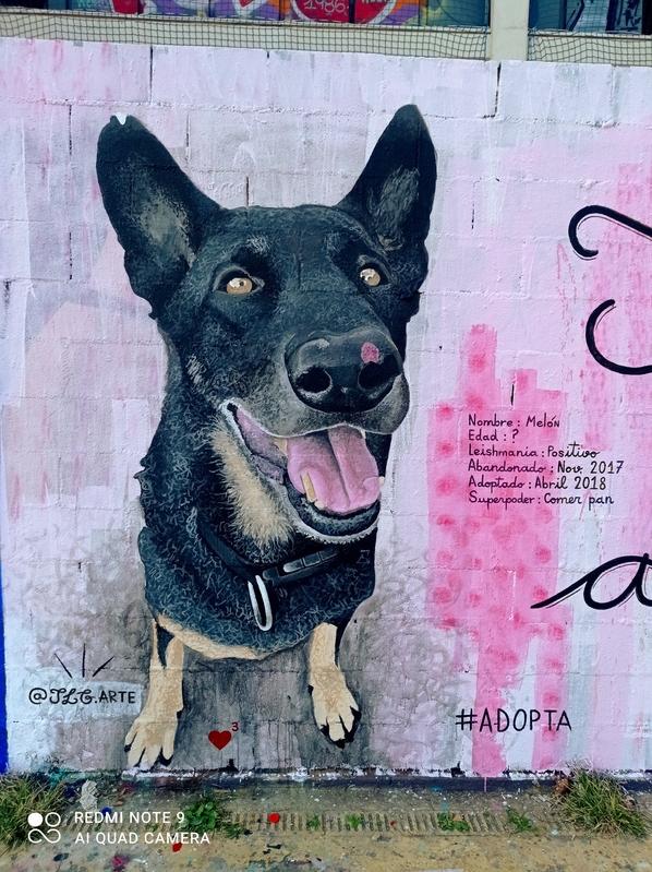 Wallspot - Jesus Lora gallego - Barcelona - Tres Xemeneies - Graffity - Legal Walls -