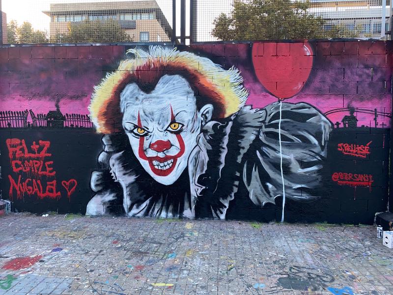"""Wallspot - PETERGRAFF - Primer Realismo """"Drassanes"""" #PETER - Barcelona - Drassanes - Graffity - Legal Walls - Ilustración, Stencil, Otros"""