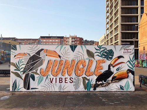 JUNGLE vibes // combo with Joel Arroyo