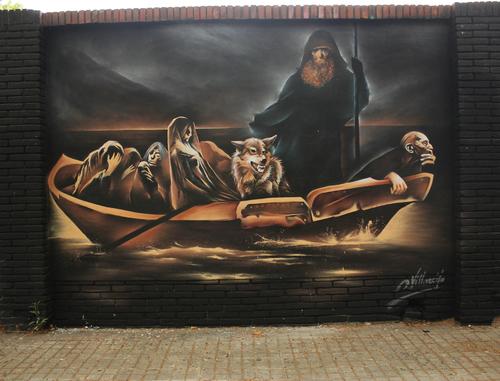 Caronte el barquero del Hades