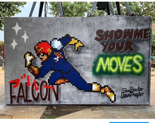 Show me your moves w/ @urbanpixelart