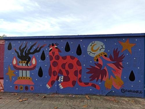 Wallspot -evalop - evalop - Project 27/10/2020 - Barcelona - Agricultura - Graffity - Legal Walls -  - Artist - Maruhrz