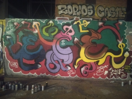 Wallspot - ECE - Tres Xemeneies - Barcelona - Tres Xemeneies - Graffity - Legal Walls -