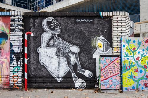 Wallspot -Perp59 - MUR SELVA DE MAR 2020 - Barcelona - Selva de Mar - Graffity - Legal Walls - Il·lustració