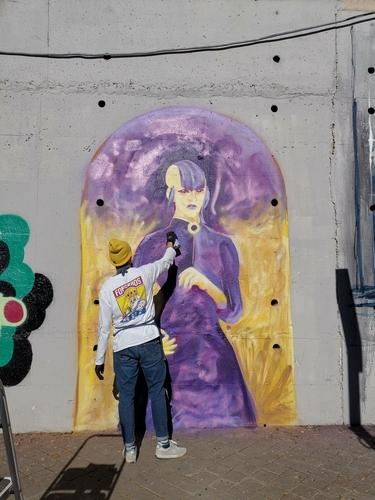Wallspot - SANT -  - Madrid - El puente - Graffity - Legal Walls -
