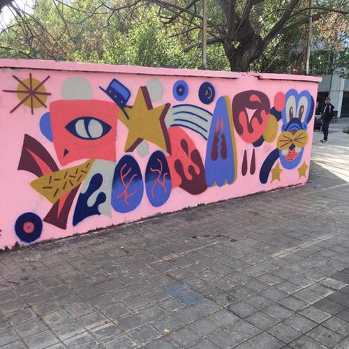 Wallspot - gasp - broken heart - Barcelona - Selva de Mar - Graffity - Legal Walls - Letters, Illustration