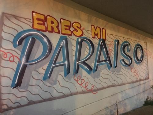 Eres mi paraíso