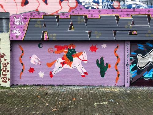 Wallspot - Ratz.psd -  - Rotterdam - Croos - Graffity - Legal Walls -