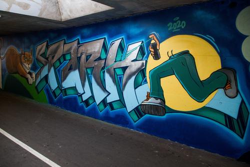 Wallspot -R.Irot - Spark - Tallinn - Laagri Spot - Graffity - Legal Walls -