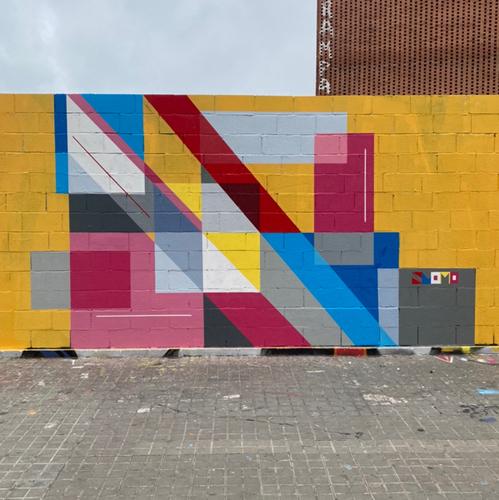 Wallspot - slomo -  - Barcelona - Tres Xemeneies - Graffity - Legal Walls -