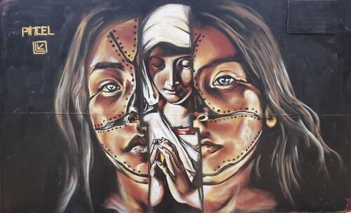 Wallspot -cal - 09/02/2021 - Barcelona - Tres Xemeneies - Graffity - Legal Walls -  - Artist - PINCEL