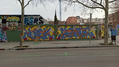 Wallspot - Norek -  - Barcelona - Agricultura - Graffity - Legal Walls -