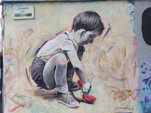 Wallspot -evalop - evalop - Project 07/04/2021 - Barcelona - Agricultura - Graffity - Legal Walls -  - Artist - Jaume Montserrat
