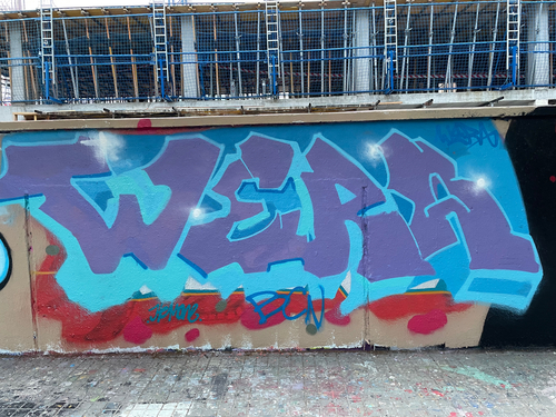 Wallspot - tom12 - Agricultura - Barcelona - Agricultura - Graffity - Legal Walls - Letters