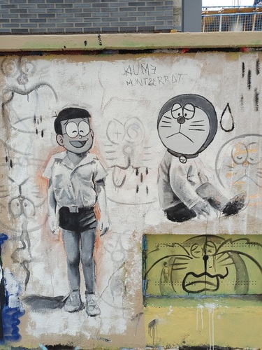 Wallspot -evalop - evalop - Project 20/04/2021 - Barcelona - Agricultura - Graffity - Legal Walls - Illustration - Artist - Jaume Montserrat