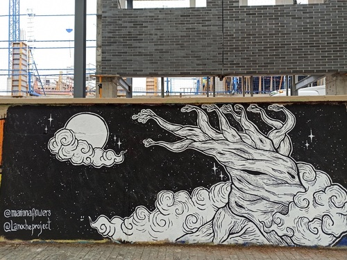 Wallspot -evalop - evalop - Project 20/04/2021 - Barcelona - Agricultura - Graffity - Legal Walls - Illustration - Artist - La Noche Project