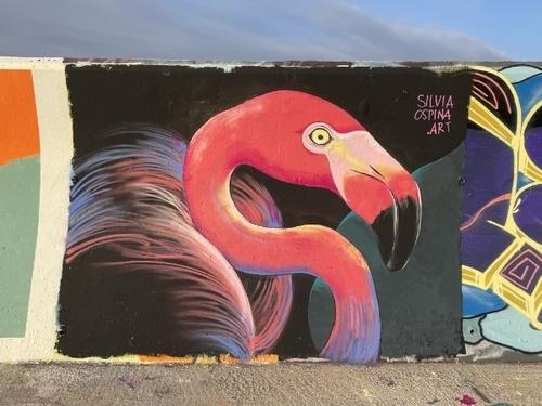 Wallspot - Silvia Ospina.art -  - Barcelona - Forum beach - Graffity - Legal Walls -