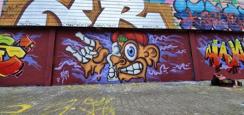 Wallspot - TopCat Design - Drip - Rotterdam - Croos - Graffity - Legal Walls - Ilustración